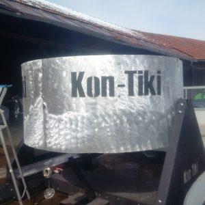 Kon-Tiki zur Herstellung von Pflanzenkohle